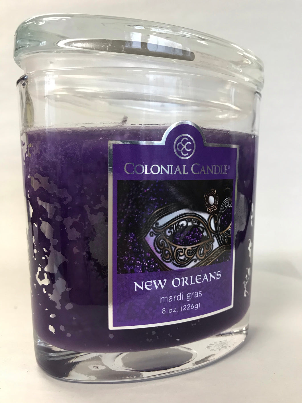 Colonial Candles - New Orleans - 8oz Oval Jar