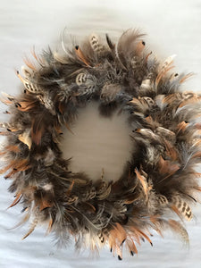 "14"" Wreath - Feather"