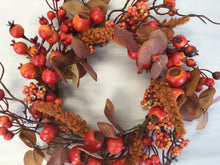"Load image into Gallery viewer, 6""Candle Ring - Autumn Mixed Berry"
