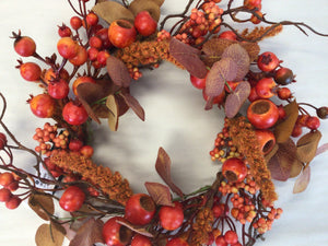 "6""Candle Ring - Autumn Mixed Berry"