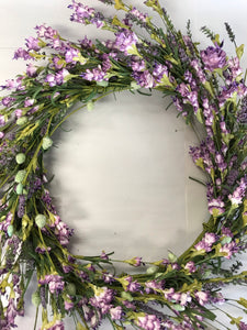 "22"" Wreath - Lavender Berry"