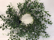 "Load image into Gallery viewer, 4""Candle Ring - Boxwood"