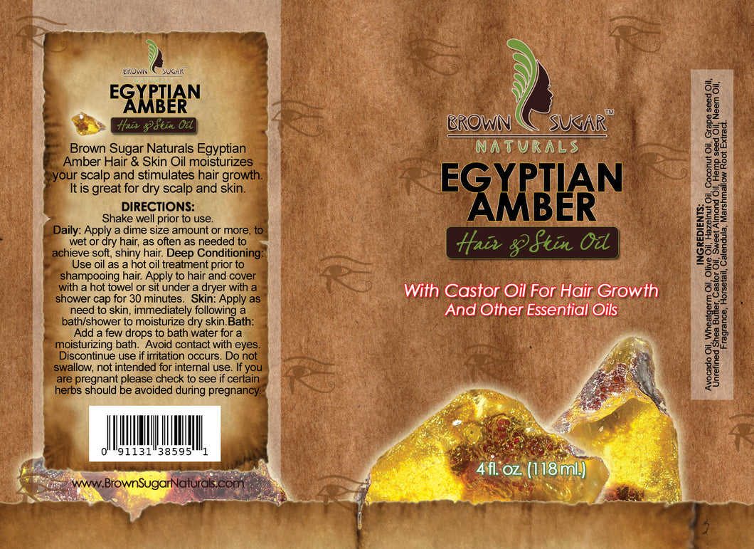 Hair & Skin Oil - Egyptian Amber