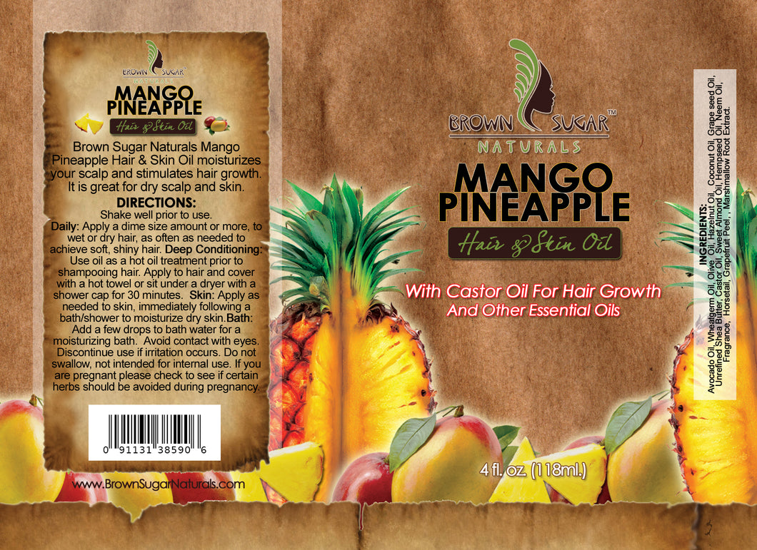 Hair & Skin Oil - Mango Pineapple