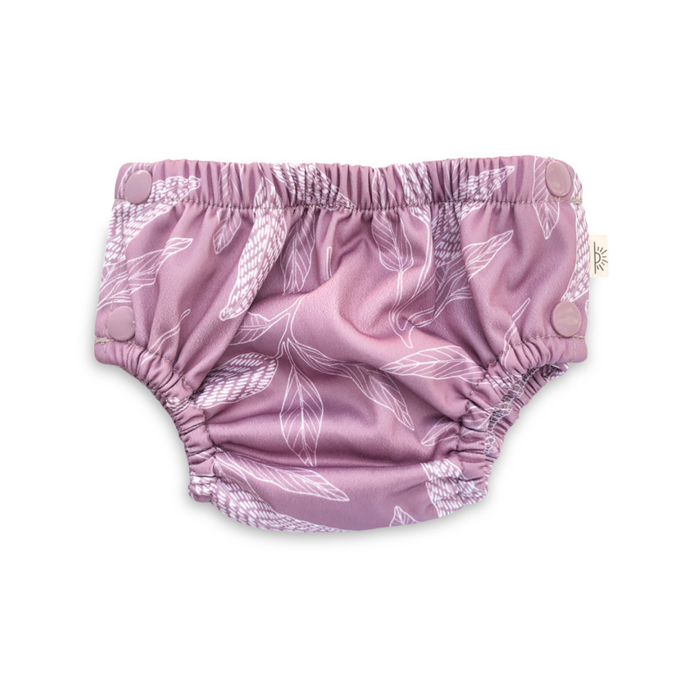 EcoNaps Mauve Native Swim Nappy