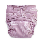 EcoNaps Mauve Native Cloth Nappy