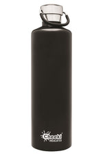 Cheeki Insulated Drink Bottle - 1L - Matte Black