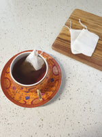 Reusable cotton tea bag