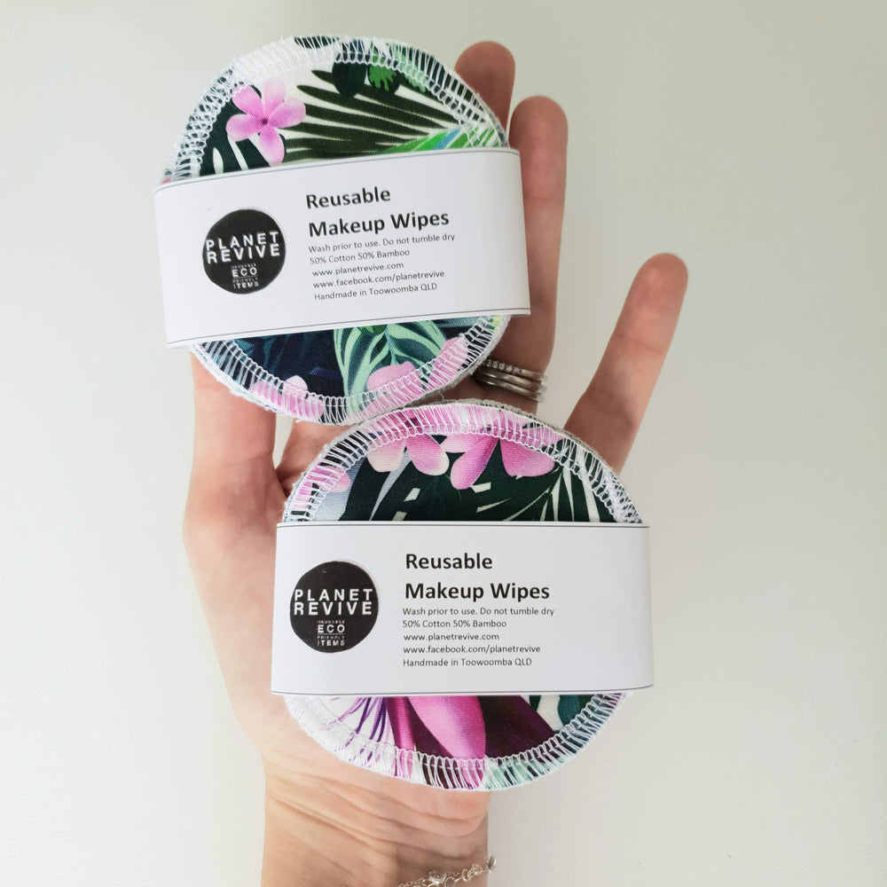 Planet Revive Reusable Facial Wipes
