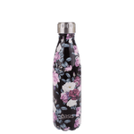 Oasis Double Wall Insulated Drink Bottle - 500ml - Midnight Floral