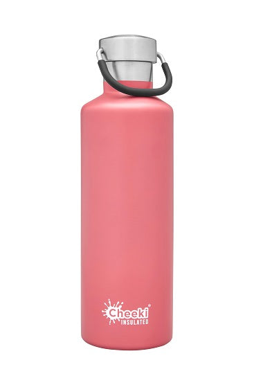 Cheeki Insulated Drink Bottle - 600ml - Dusty Pink