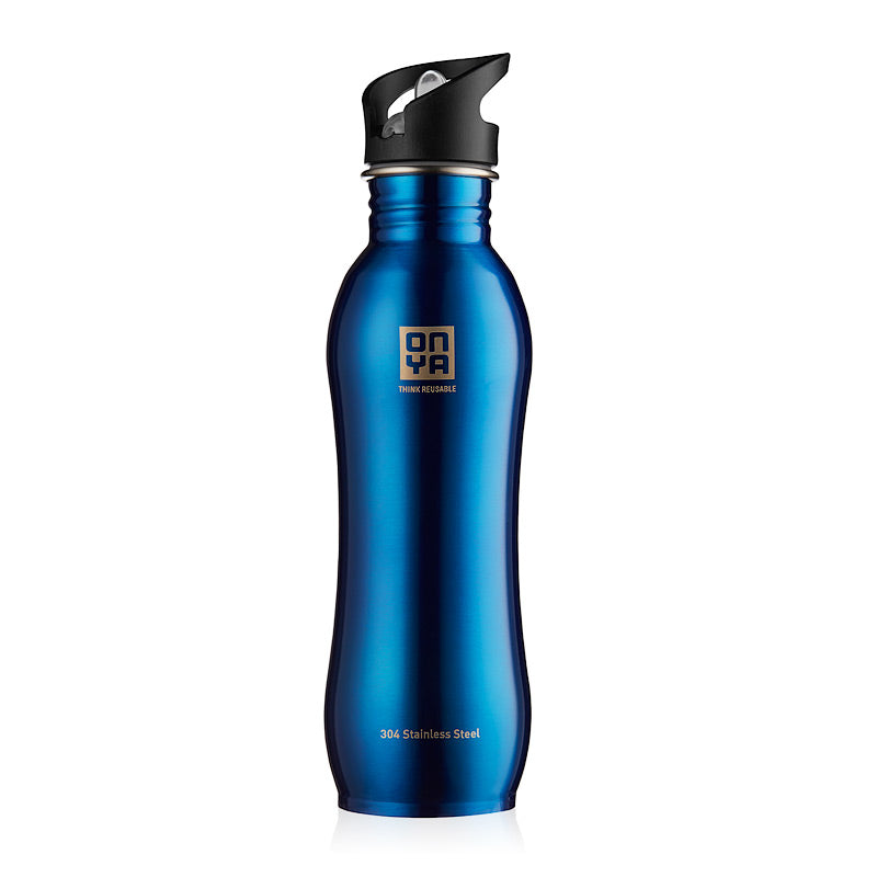 Onya Stainless Steel Drink Bottle - 750ml - Blue