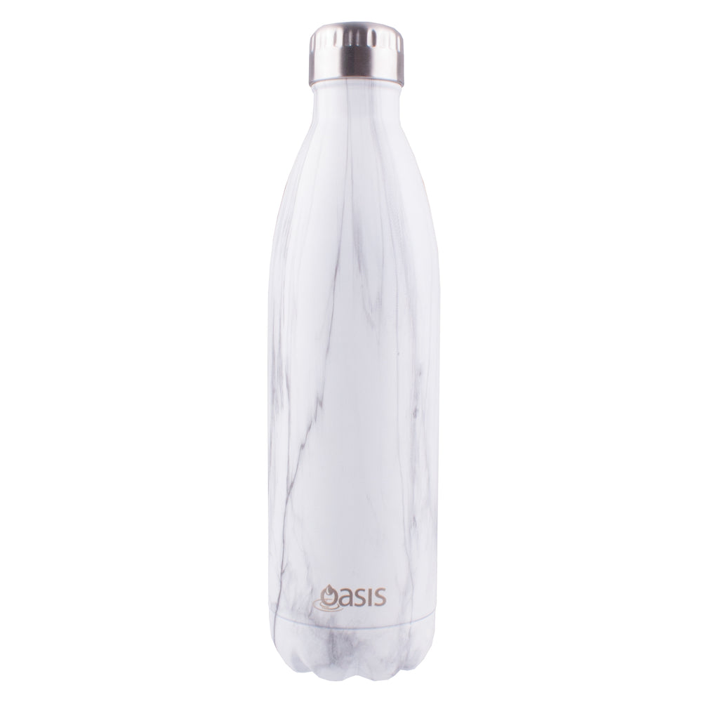 Oasis Double Wall Insulated Drink Bottle - 750ml - Marble