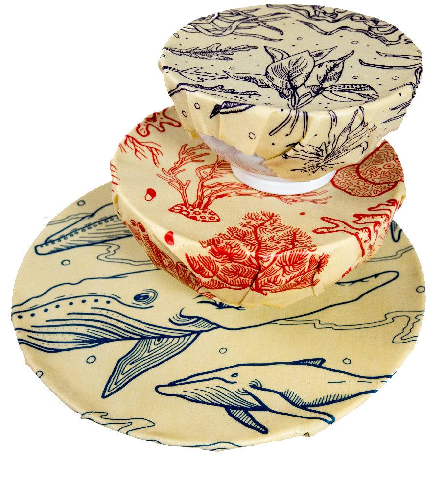 The Beeswax Co Beeswax Wraps Seven Seas Range