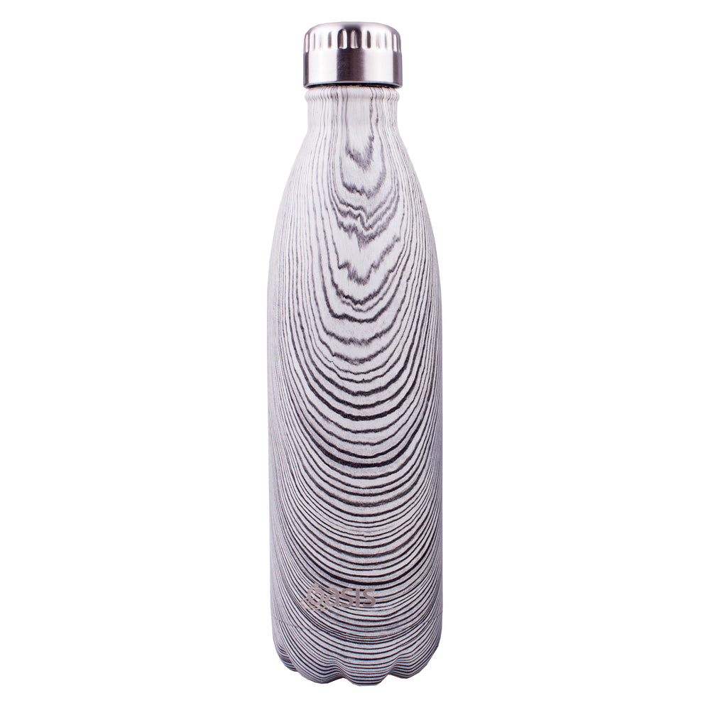 Reusable Double Wall Insulated Drink Bottle 750ml (Driftwood)