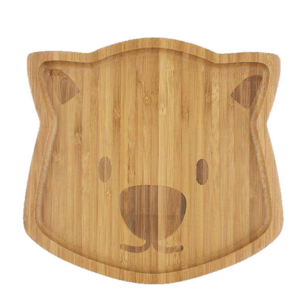 Emondo Kids Bamboo Dinnerware - Waldo the Wombat