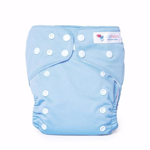 Econaps Dusty Blue Cloth Nappy