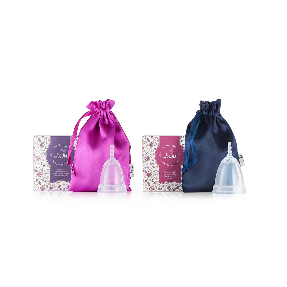 JUJU Menstrual Cup Packaging