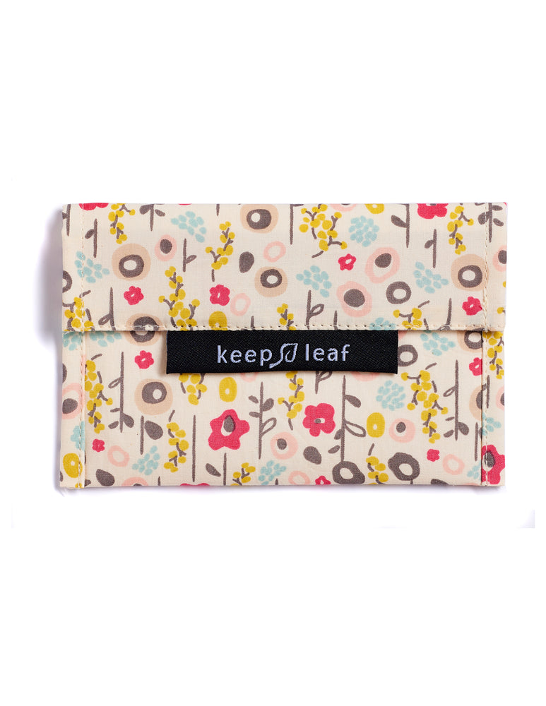 Keep Leaf Reusable Sandwich Baggie - Bloom - Small