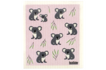 Retro Kitchen Dish Cloth - Koalas