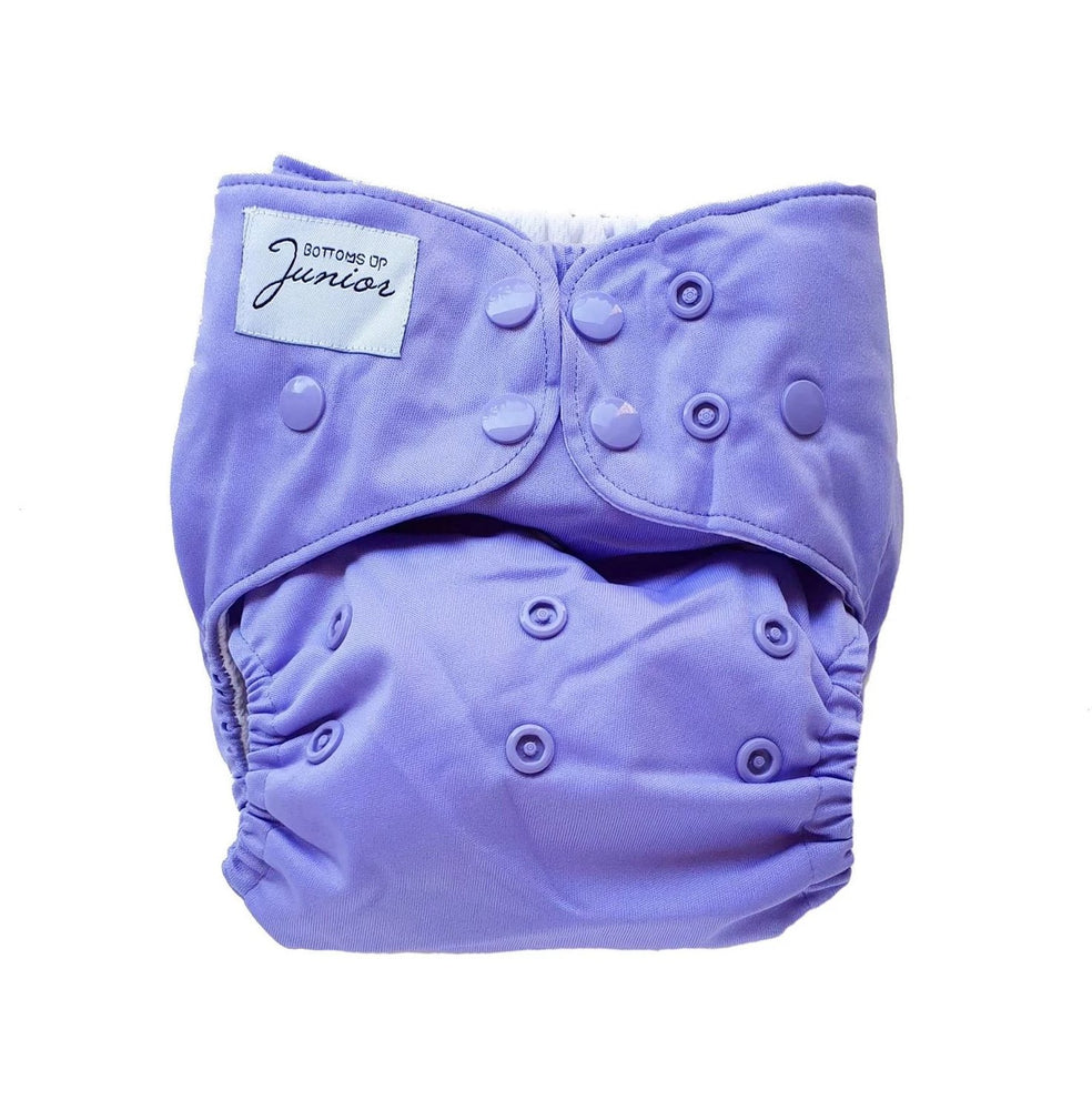 Bottoms Up Junior Lavender Cloth Nappy