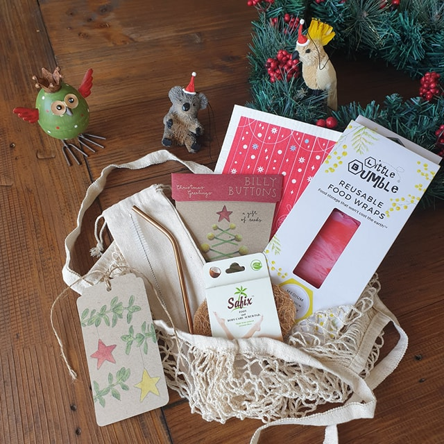 Mindful Plastic-Free Christmas Gift Set