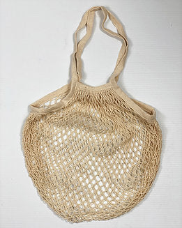 Earth Wrapping Classic Cotton String Bag - Natural