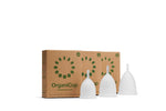 OrganiCup Menstrual Cup **FREE ORGANIWASH WITH PURCHASE**
