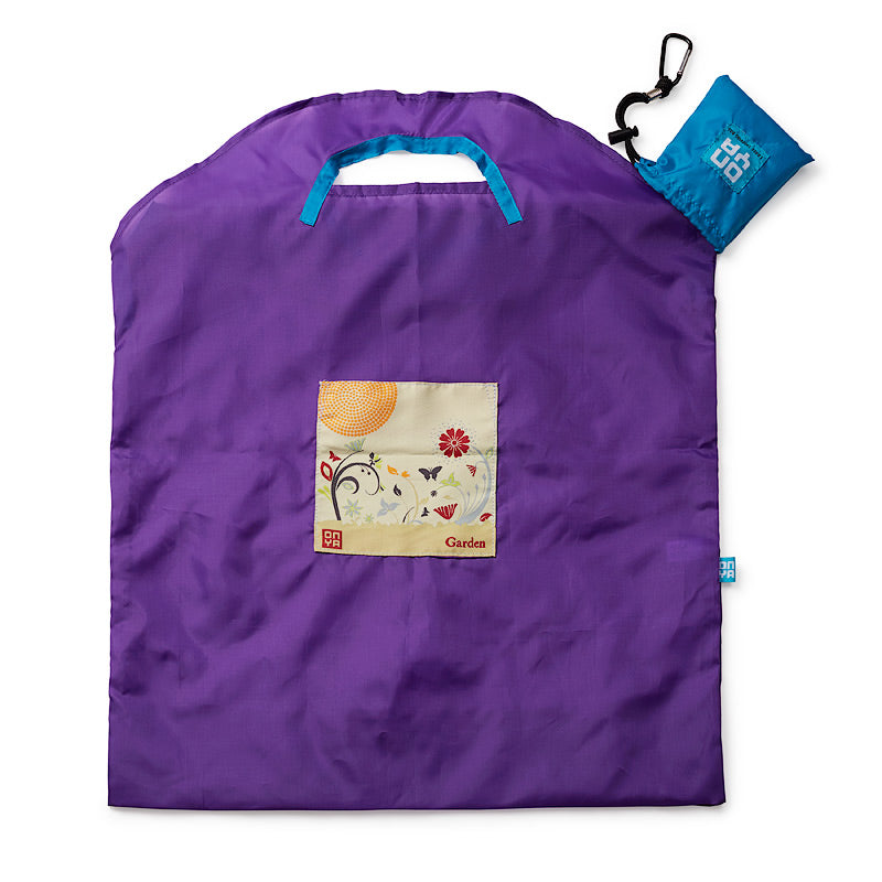 Onya Reusable Shopping Bag (Large) - Purple Garden