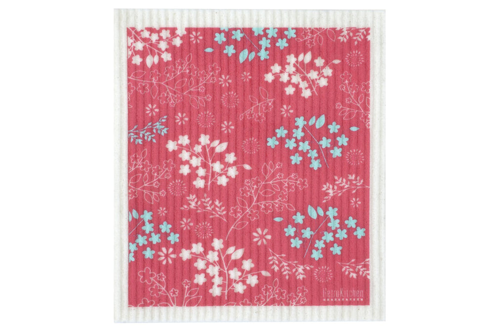 Retro_Kitchen_Dish_Cloth_Blossom