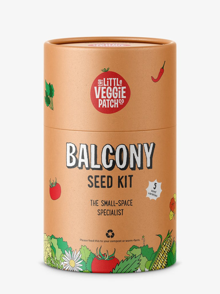 Little Veggie Patch Balcony Seed Kit