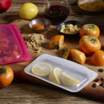 Stasher Reusable Silicone Snack Bag Clear