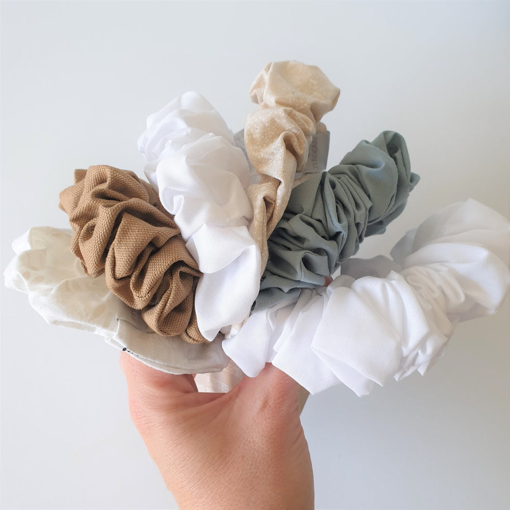 ZeroCare Plastic-free Hair Scrunchies