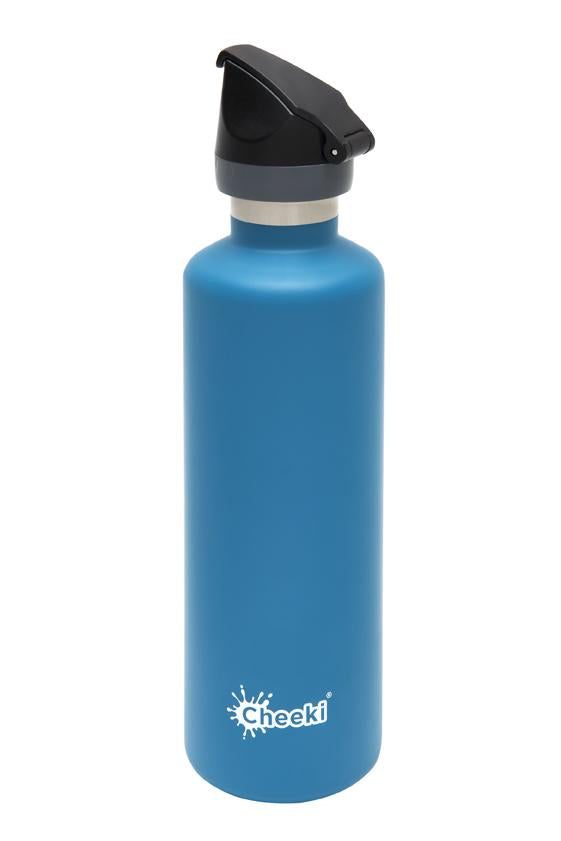 Cheeki Insulated Active Drink Bottle - 600ml - Topaz