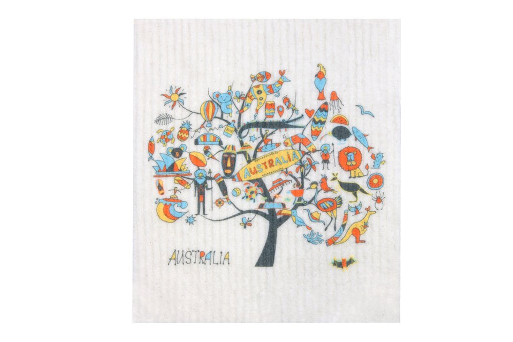 Retro Kitchen Dish Cloth - Australia