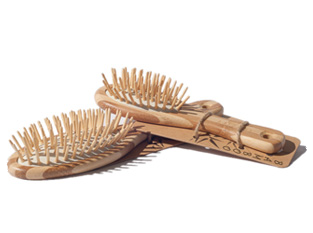 MiEco Bamboo Hair Brush - Small (17cm)