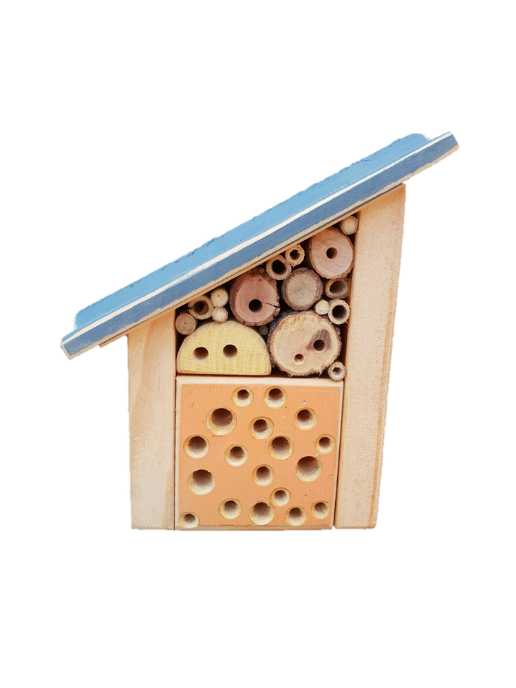 The Woodsman Solitary Bee Home