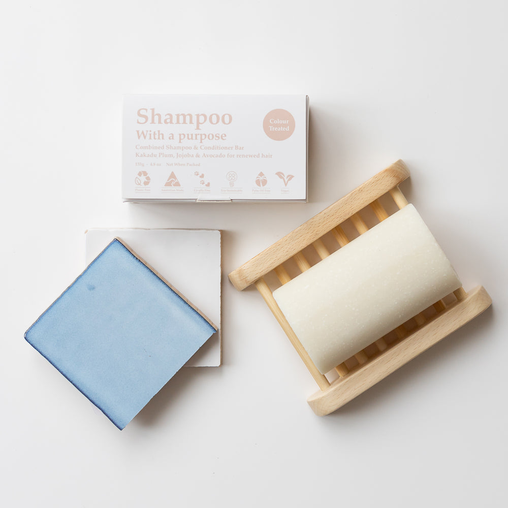 Shampoo With A Purpose Shampoo and Conditioner Bars