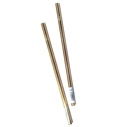 Stainless Steel Rose Gold Straw - Straight (Single)