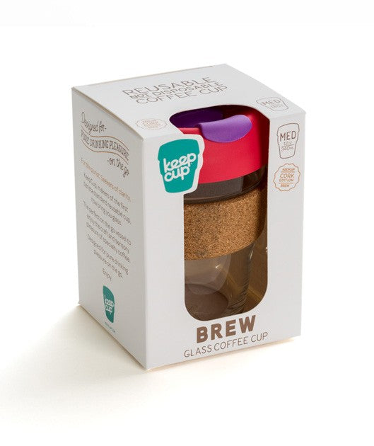 KeepCup - 'Brew - Cork Edition' - 12oz - Press