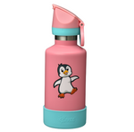 Cheeki Insulated Kids Drink Bottle - 400ml - Pia the Penguin