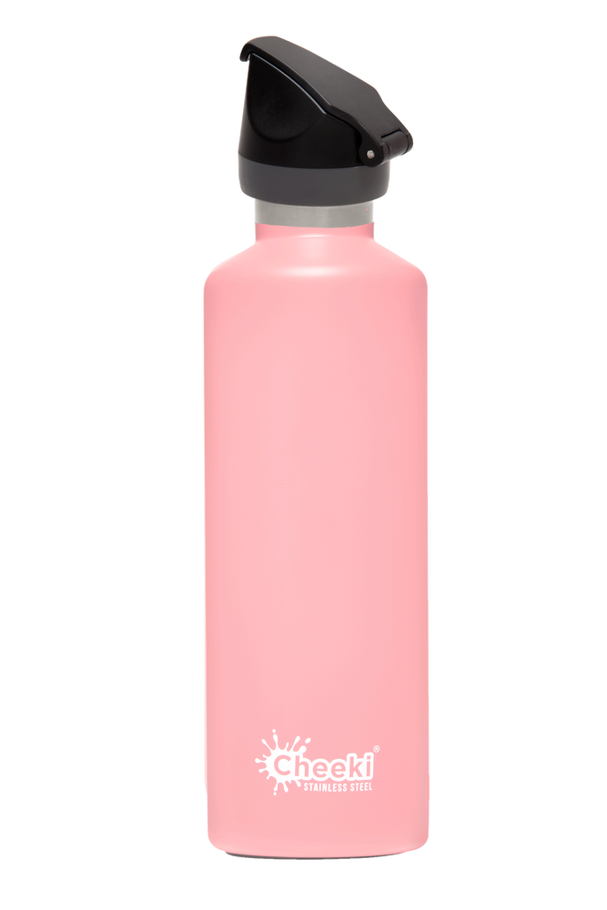 Cheeki Insulated Active Drink Bottle - 600ml - Dusty Pink