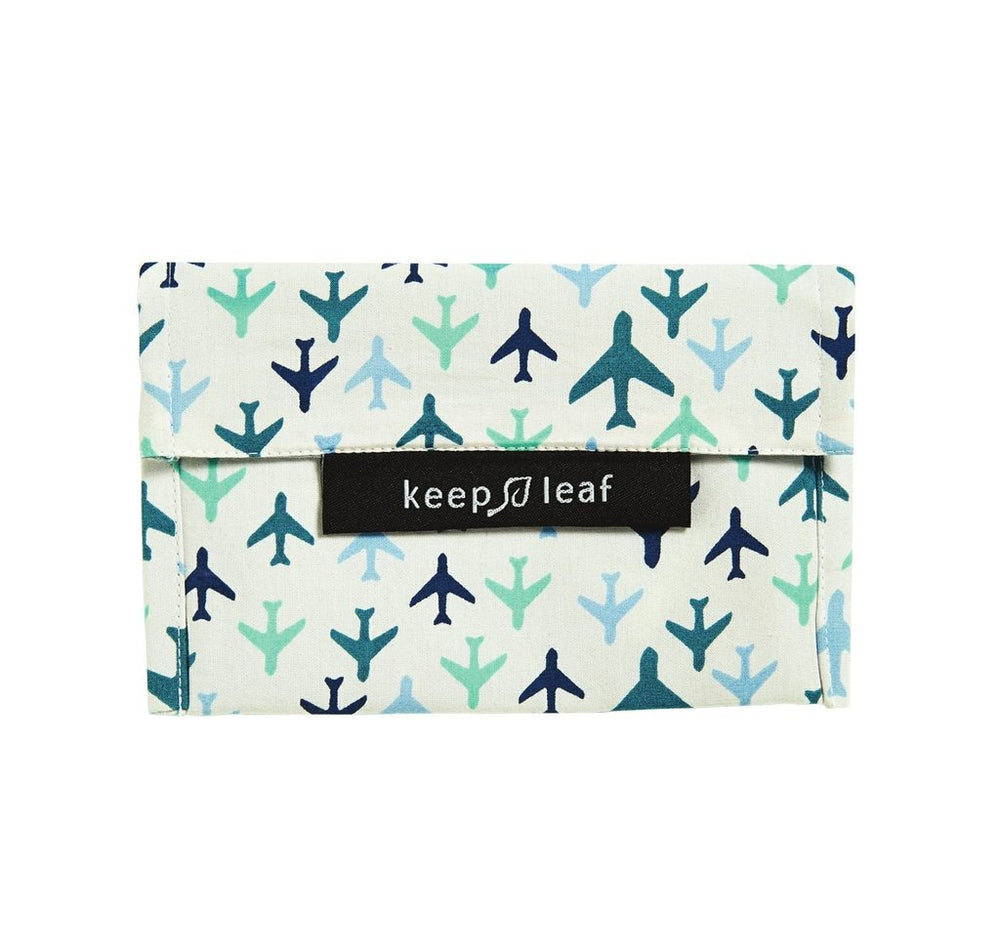 Keep Leaf Reusable Sandwich Baggie - Planes - Small