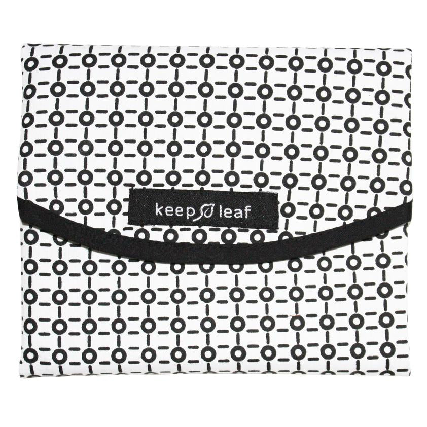 Keep Leaf Food/Sandwich Wrap - Black & White