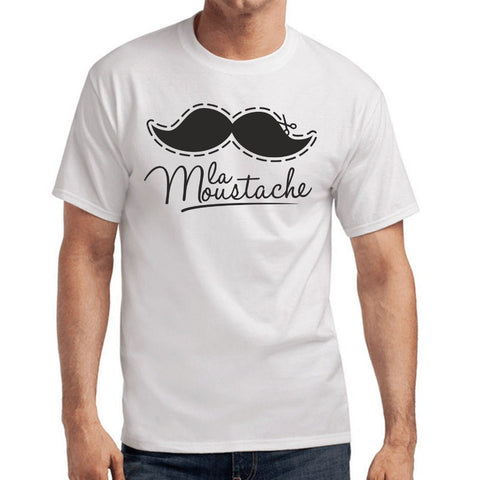 e5096efd1 2018 Summer T-Shirts For Men Mustache | Hipster | Fun | | S-