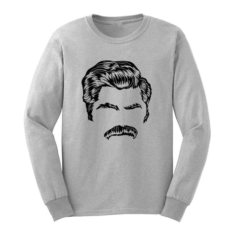f45efe611 Loo Show Mens Director Of Mustache Long Sleeve T-Shirts Casual Men Tee *  Awesome