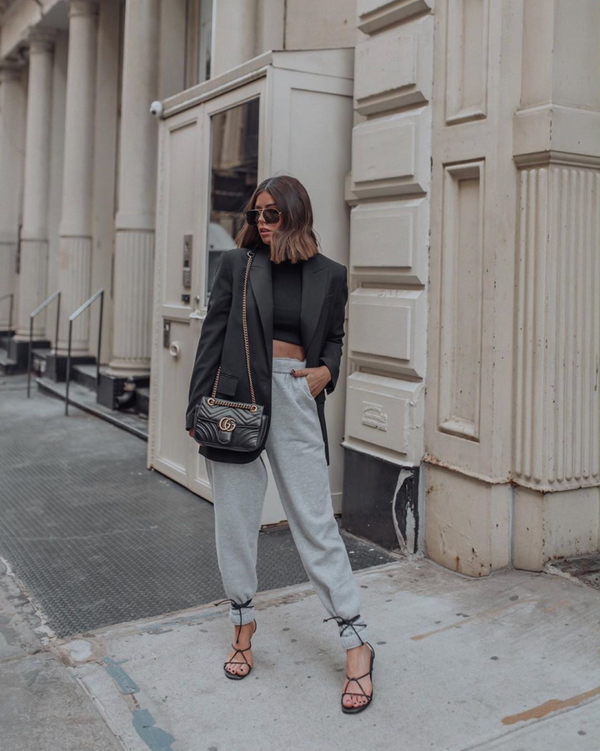 5 Loungewear Outfits You'll Be Living In While Social Distancing