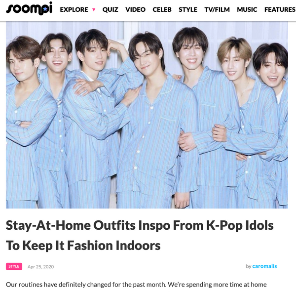 Stay-At-Home Outfits Inspo From K-Pop Idols To Keep It Fashion Indoors | The Dallant | Korean Fashion Trends