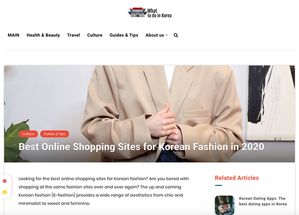 Best online shopping sites for Korean Fashion in 2020 | What to do in Korea