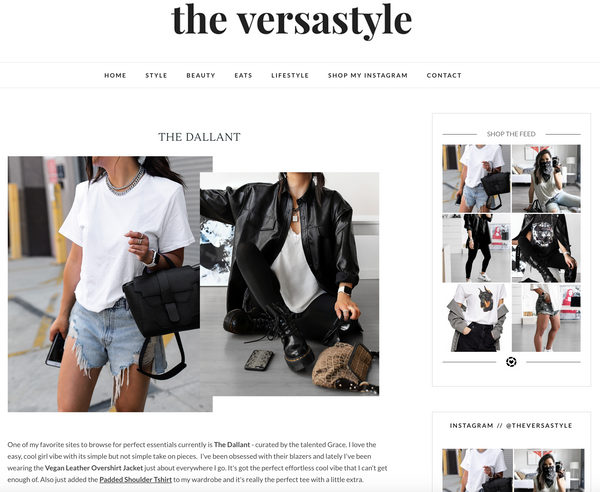 The Versastyle | Interview with Grace Lee, Founder of The Dallant